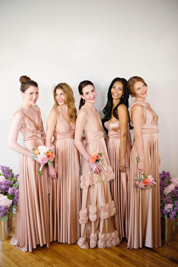 00331cf370 Perfect Mismatched Bridesmaids : Chic Vintage Brides