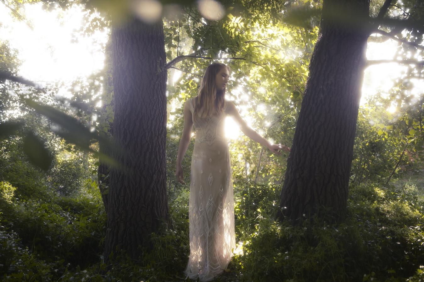 Gwendolynne Wedding Gown - Tara