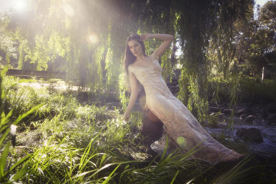 Gwendolynne Wedding Gown - Petra
