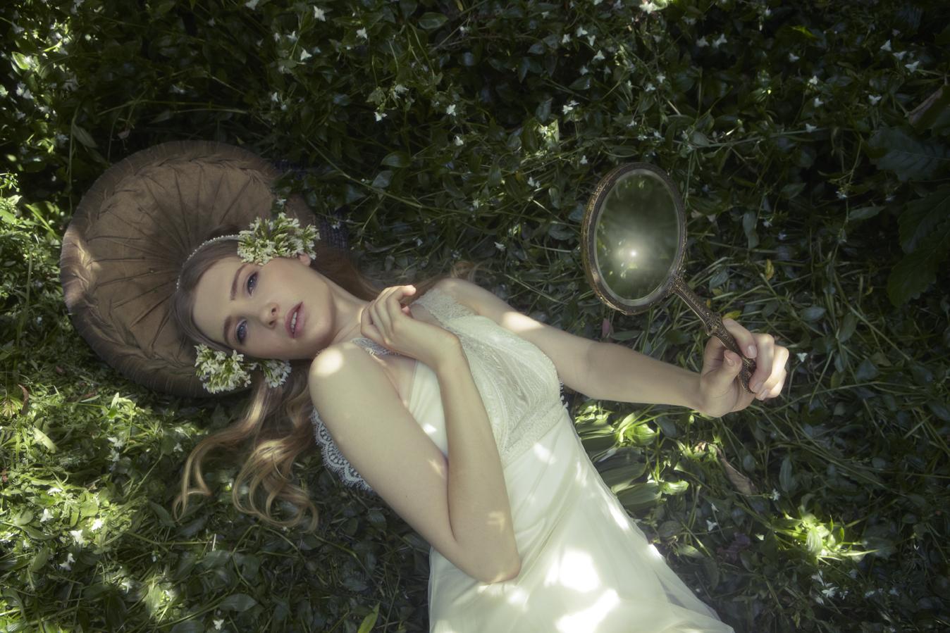 Gwendolynne Wedding Gown - Lace Yoko