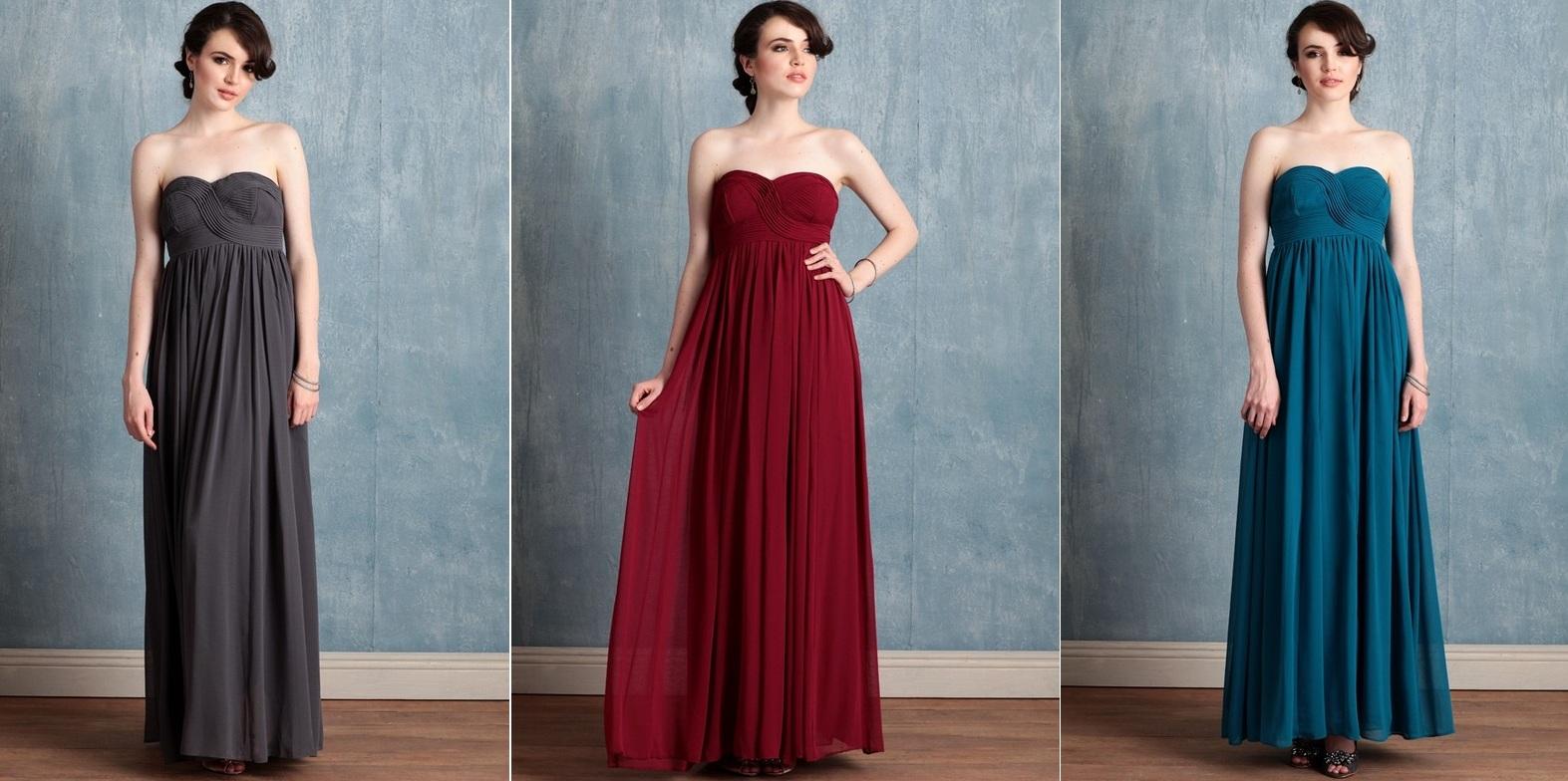 Mismatched Autumn Bridesmaids Dresses from Shop Ruche