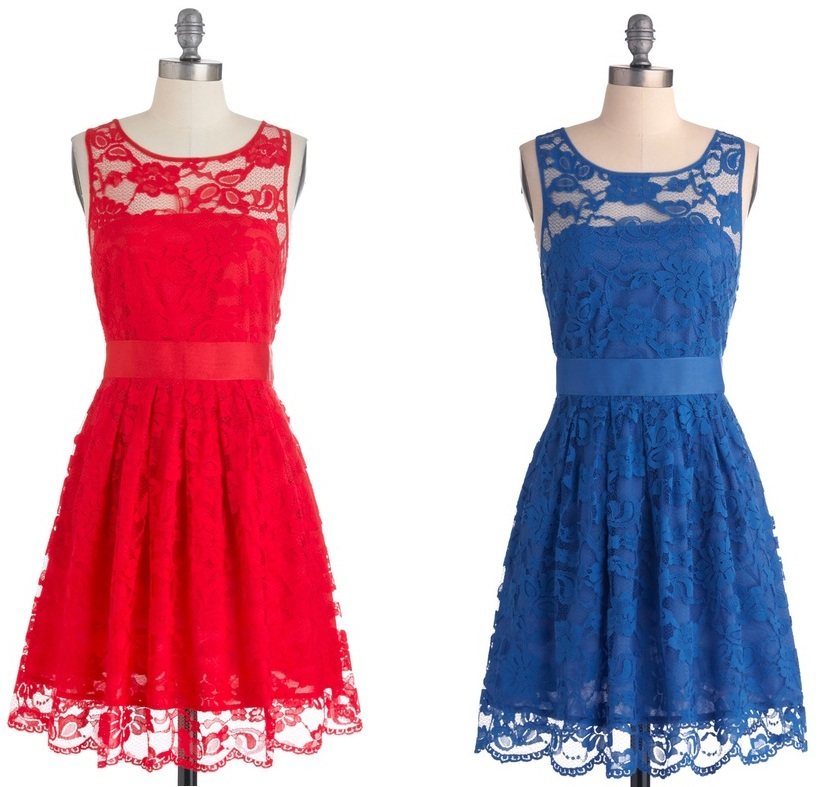 Mismatched Bridesmaids Dresses - When the Night Comes Dresses from Modcloth