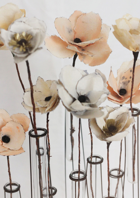 DIY Watercolour Paper Flowers