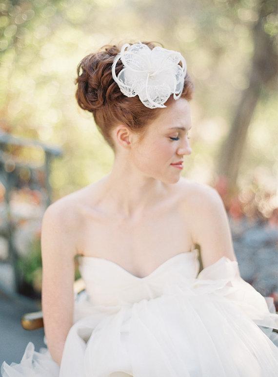 SIBO Designs Spring 2013 Collection - Bridal Fascinator