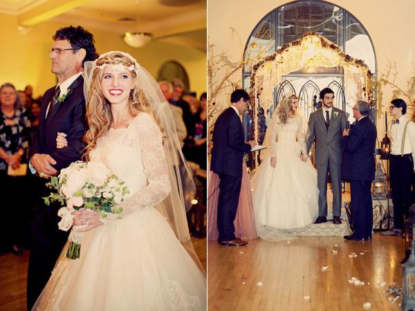 Vintage Romantic Wedding from Ruffled