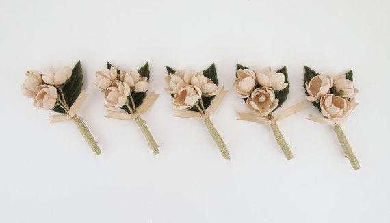 Etsy Spring Boutonniere