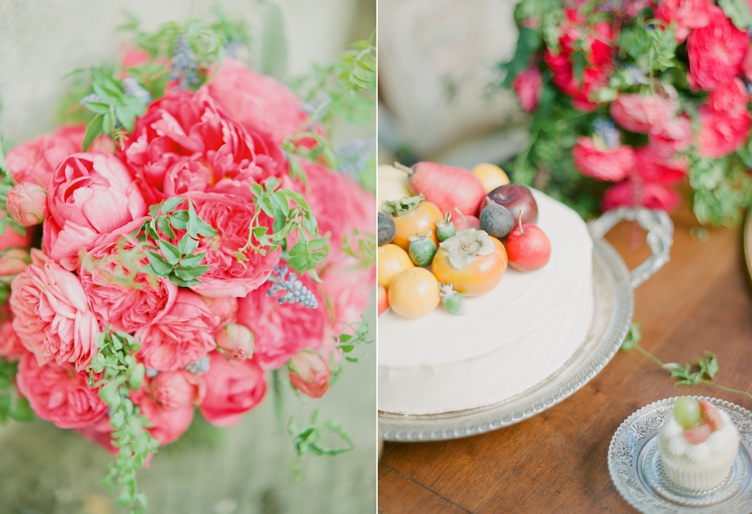 Santa Barbara Modern Vintage Wedding Inspiration Shoot from Kate Romenesko