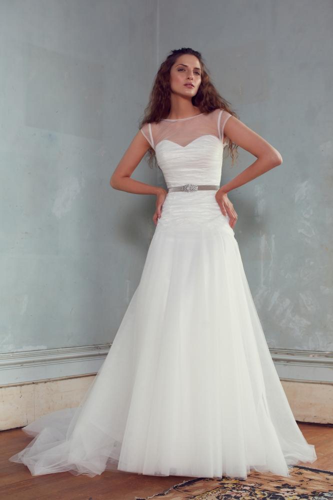 Adrianne Wedding Dress from Karen Willis Holmes 2013 Collection