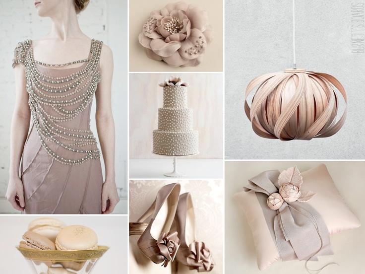 Burnetts Boards Monochromatic Wedding Inspiration