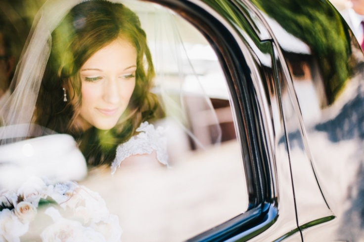 Wedding Car - Photography by Corey Sleap