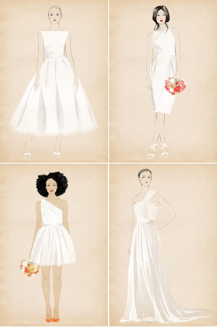 Wedding Dress Silhouettes