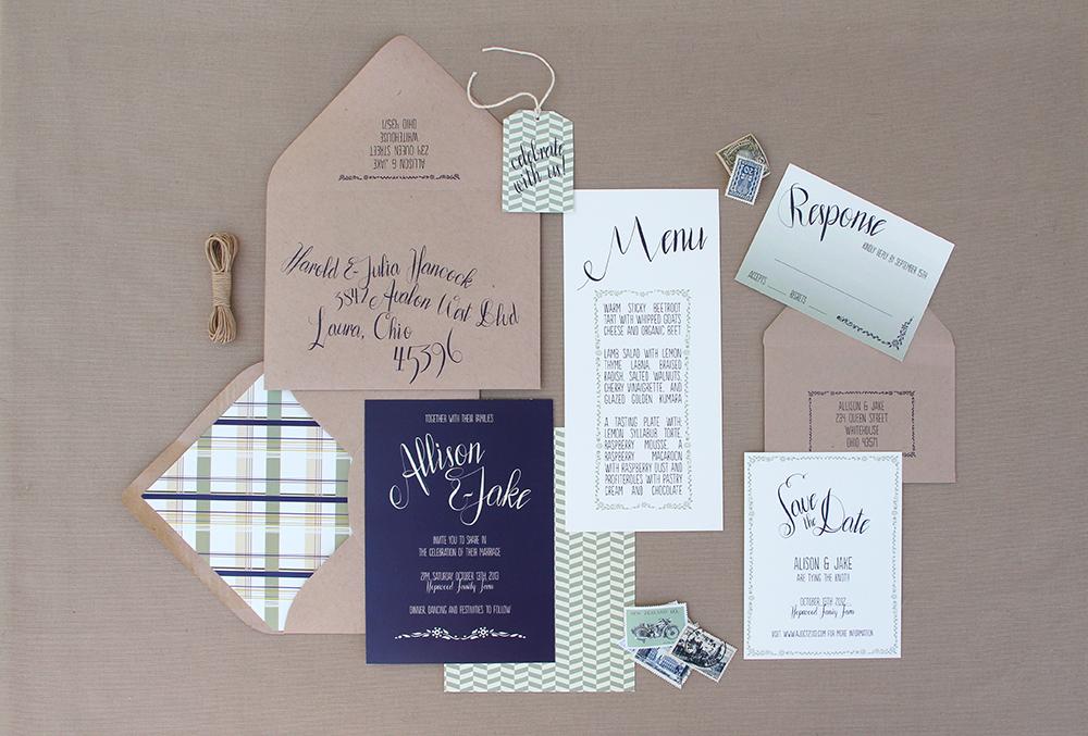 Ruby & Willow Custom Wedding Stationery
