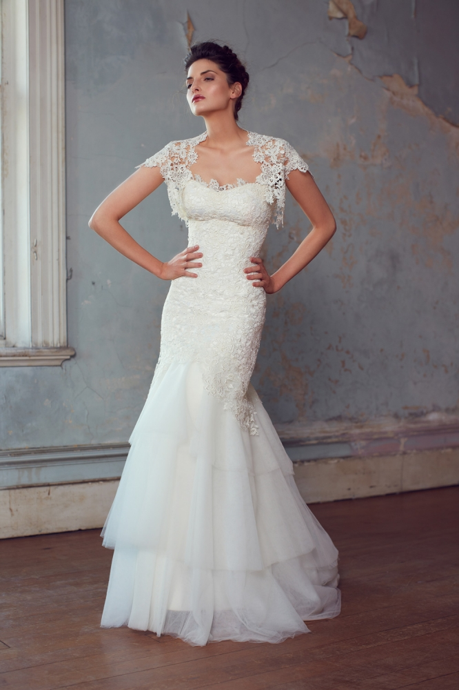 Jillian Wedding Dress from Karen Willis Holmes 2013 Collection