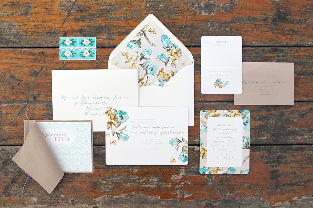 Ruby & Willow Custom Wedding Stationery Katherine Matthew
