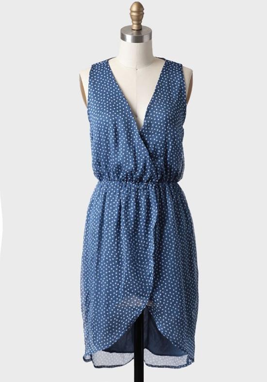 Mykonos Blue Bridesmaids Dress from Ruche