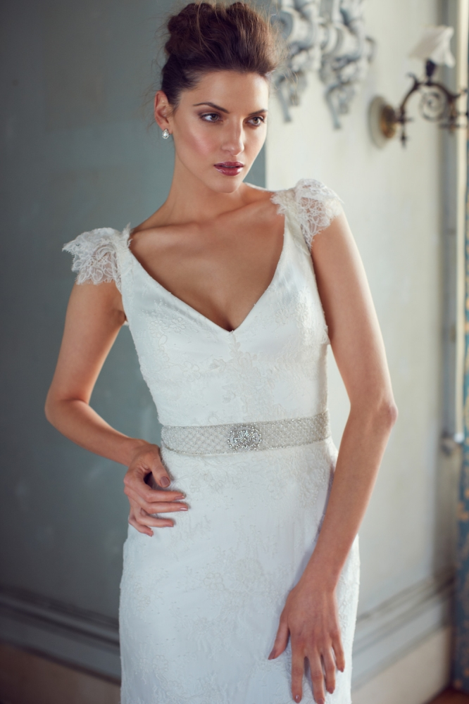 Rachel Wedding Dress from Karen Willis Holmes 2013 Collection