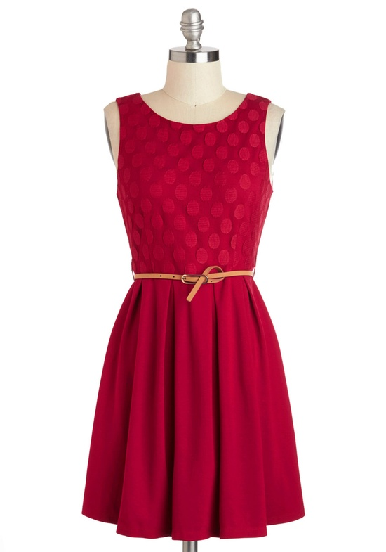 Samba Red Bridesmaids Dress from Modcloth