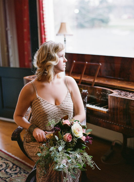 Vintage Tea Party Wedding Inspiration Shoot from Kate Romenesko