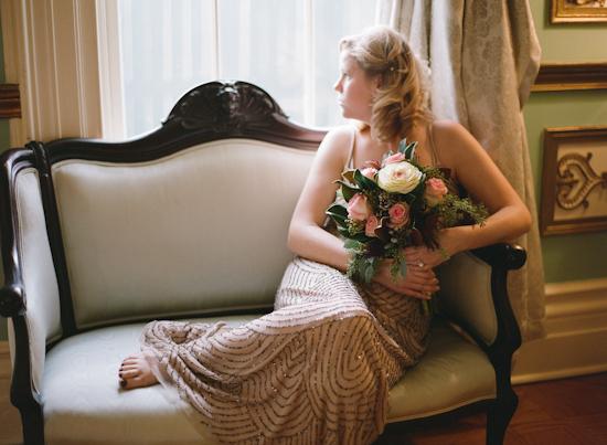 Vintage Tea Party Wedding Inspiration Shoot from Kate Romenesko