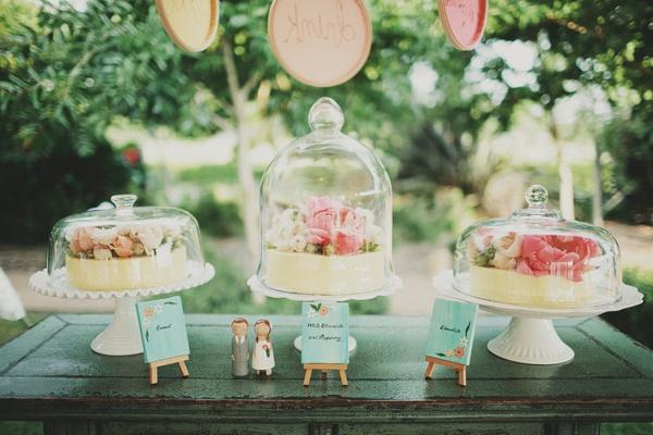 Super Pretty Traditional Cake Dessert Table