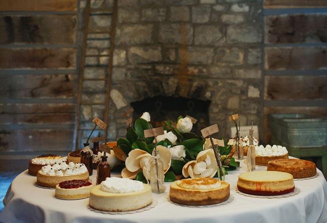Cheesecake Dessert Table