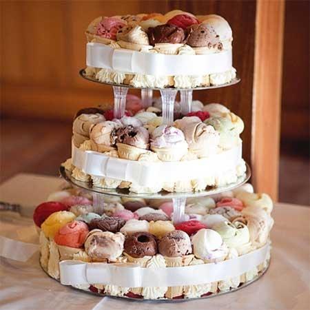 Icecream Dessert Tower