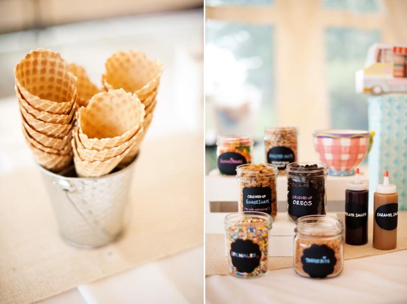 Make Your Own Icecream Dessert Table