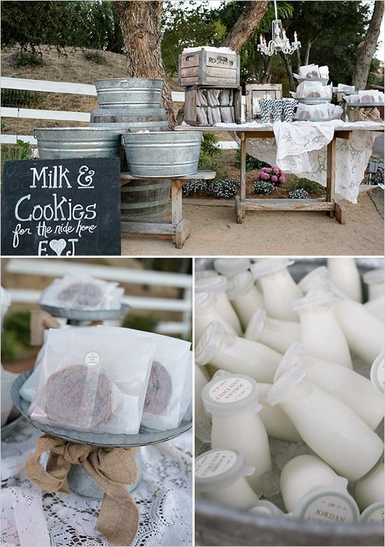 Milk & Cookies Dessert Bar
