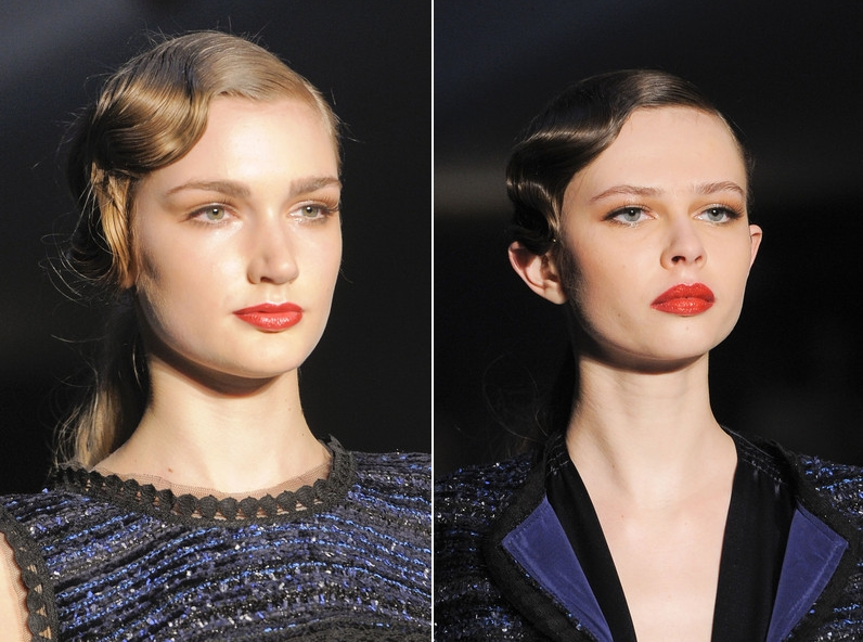 Luisa Beccaria Fall 2013 Collection Hair & Makeup