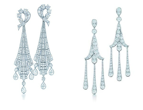 Art Deco Drop Earrings from Tiffany & Co