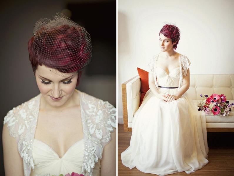 Wedding Wisdom Choosing The Perfect Birdcage Veil By Percy Handmade Chic Vintage Brides