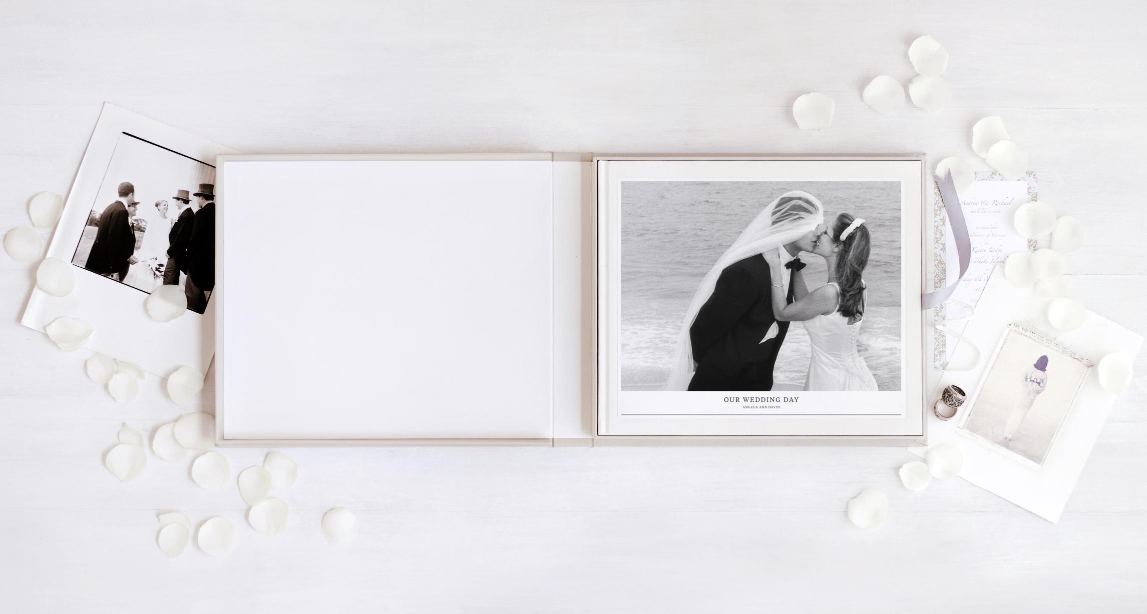 MILK Books Wedding Album