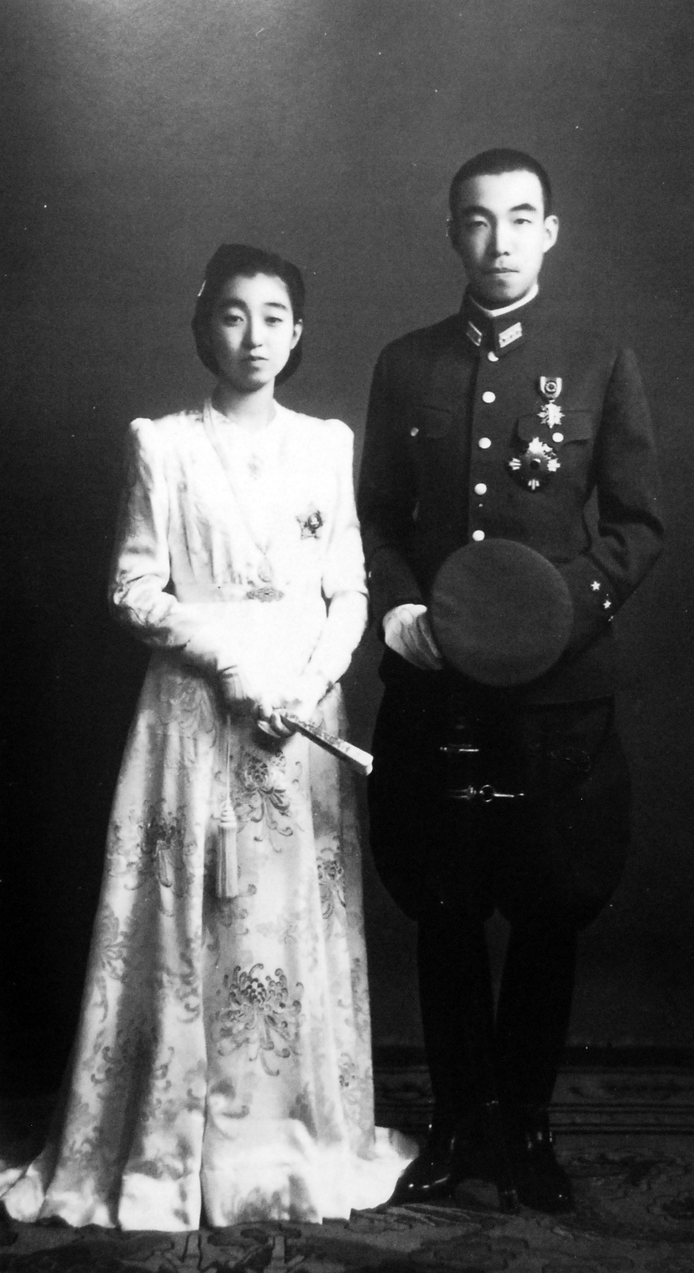 Higashikuni-no-miya 1943 Wedding
