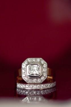 Vintage Engagement Ring & Wedding Ring