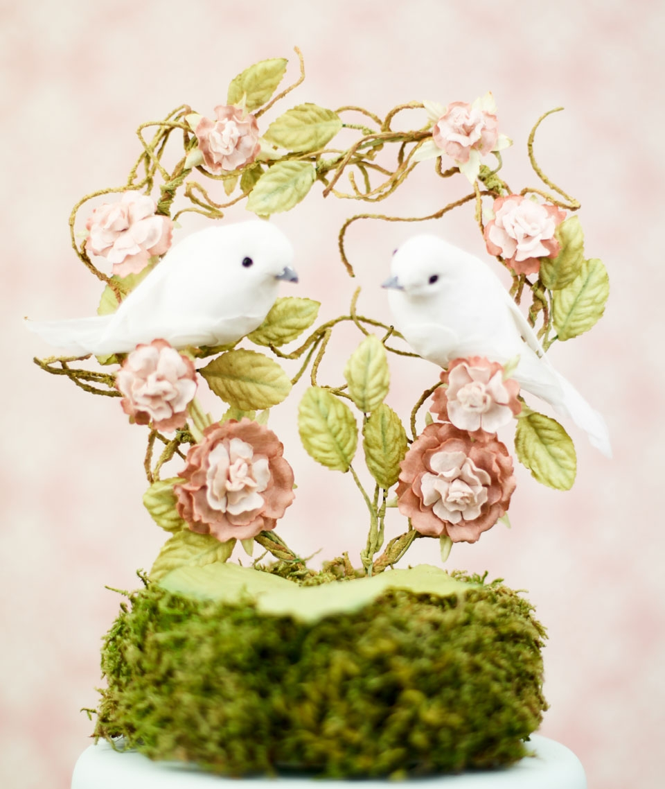 DIY and customisable Wedding Cake Toppers : Chic Vintage Brides