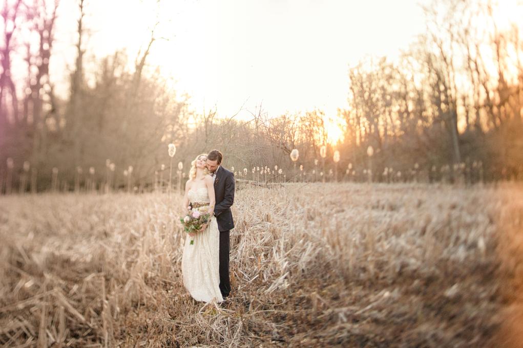 Rutgers Log Cabin Wedding Inspiration Shoot