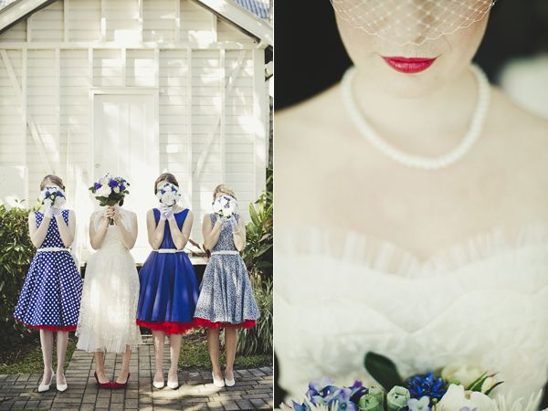 Red, White & Blue Wedding Inspiration