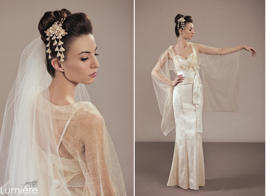 Amaterasu Wedding Dress Ensemble