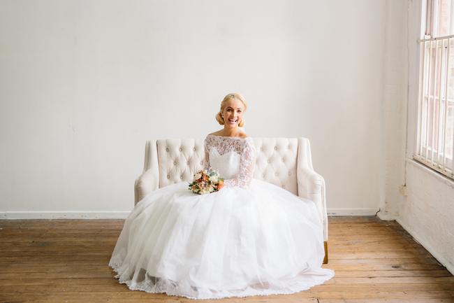 Grace Kelly Bride - 1950s inspired Bride