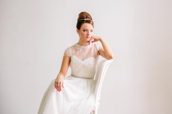 Audrey Hepburn Bride