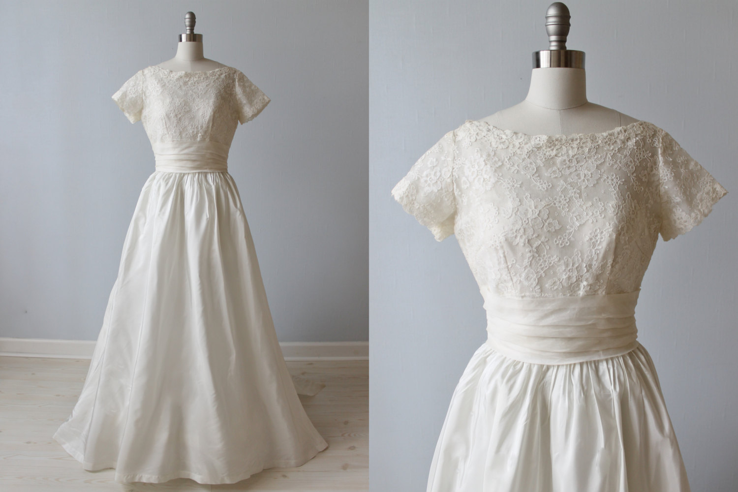 Vintage Wedding Dress - 1950s Priscilla of Boston