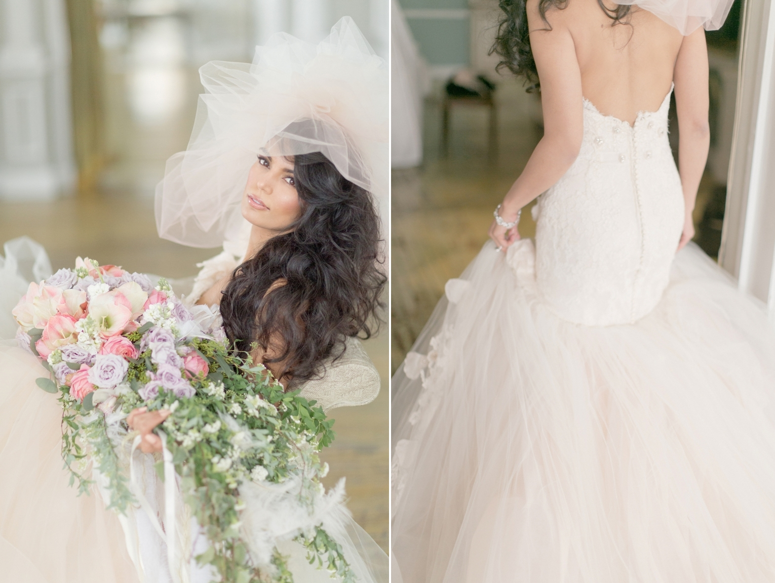 Beatrice Couture Designs and Lazaro shoot by Elisabeth Millay Photography