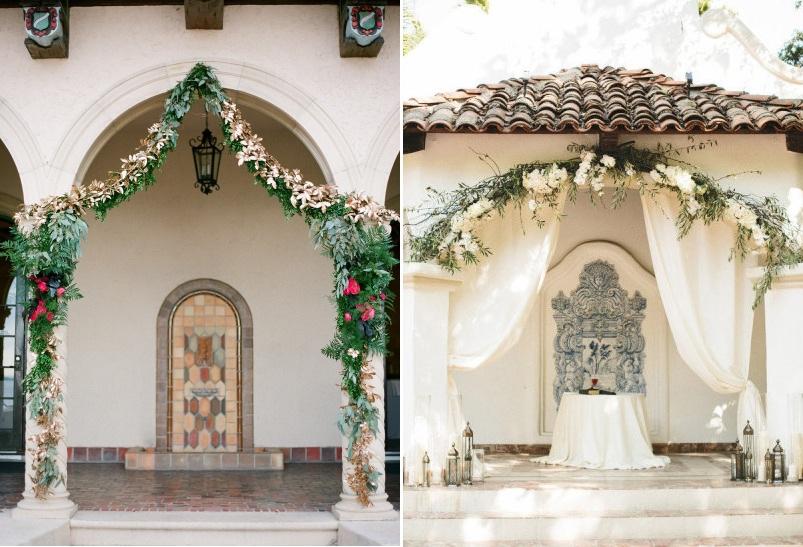 Aisle Style - Arch Aisle Decor Inspiration