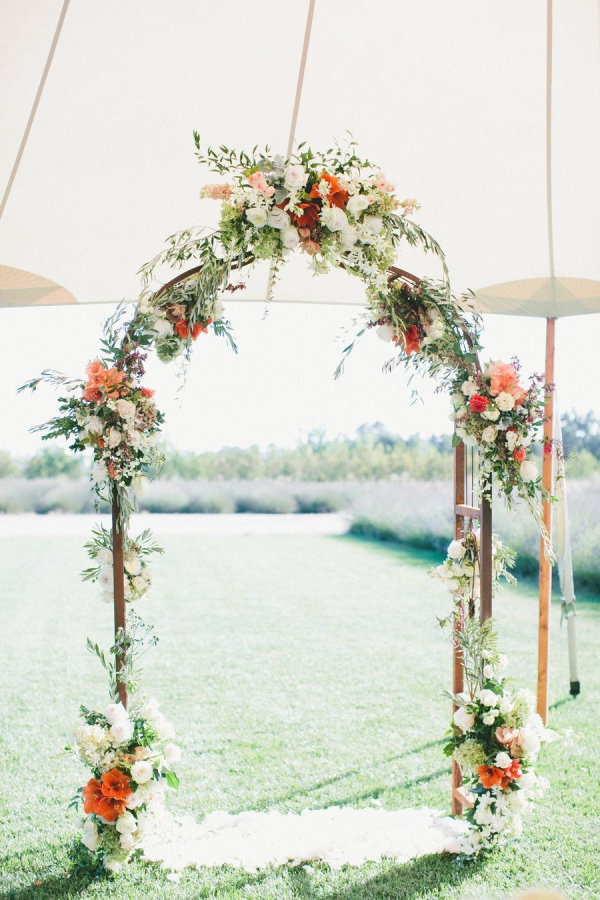 Beautiful Ceremony Decor Inspiration - Aisle Arches : Chic Vintage ...