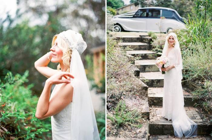 Vintage Inspired Blue Mountain Wedding