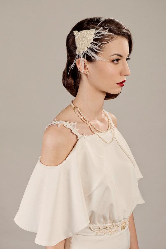 Vivien Art Deco Bridal Headpiece