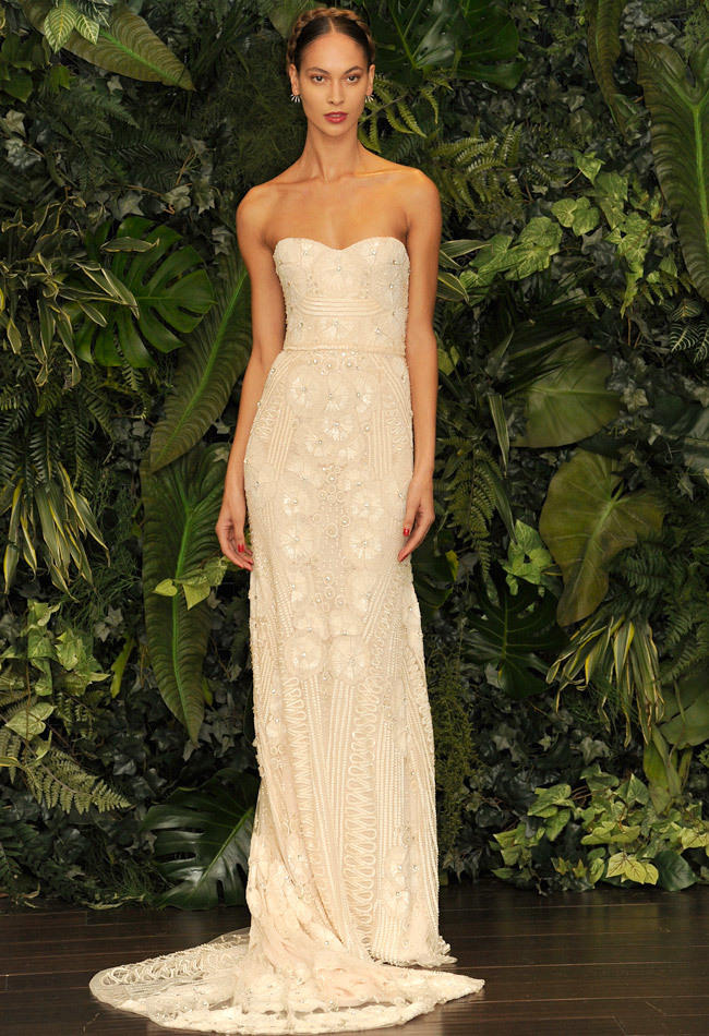 Naeem Khan Fall/ Winter 2014 Wedding Dress
