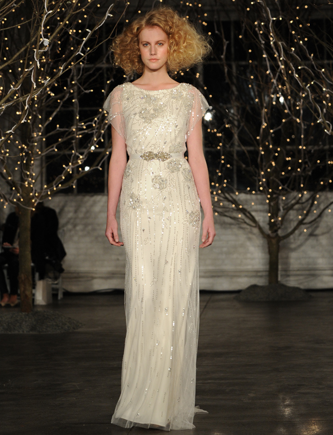Jenny Packham Spring 2014 Collection from NY Bridal Fashion Market