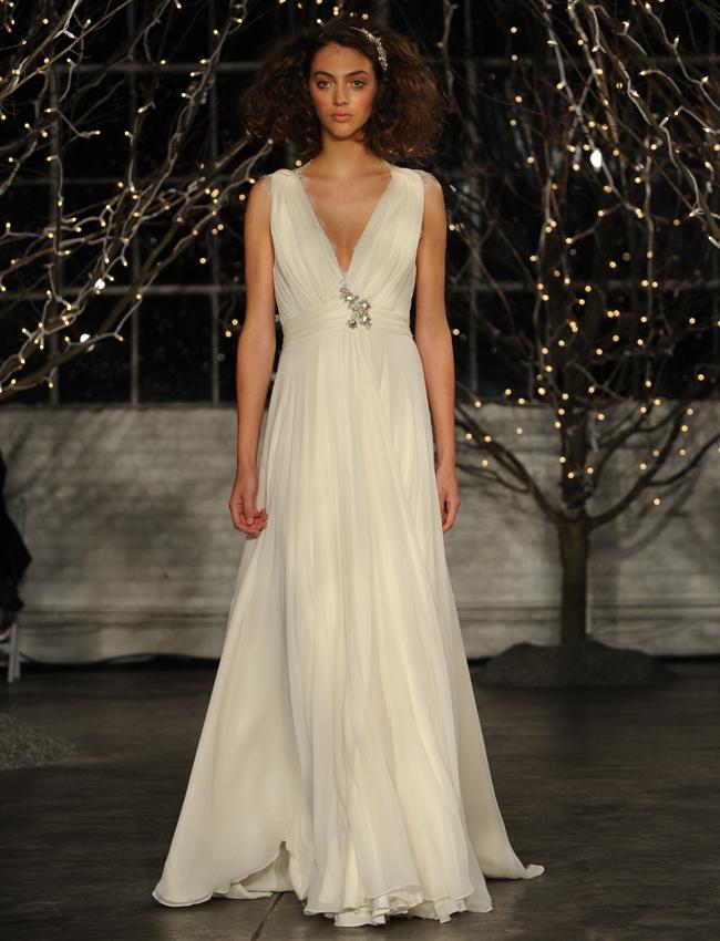 Jenny Packham Spring 2014 Collection from NY Bridal Fashion Market