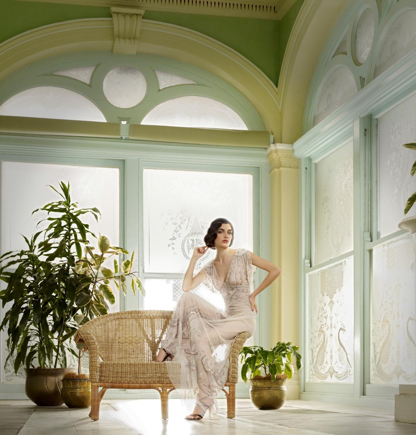 Gwendolynne - Marissa front Wedding dress